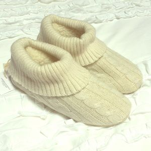 AE Fur slippers with rubber lining